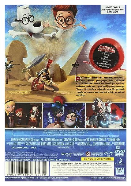 Mr. Peabody & Sherman DVD IMPORT No hay versión española: Amazon.es: Ariel Winter, Allison Janney, Leslie Mann, Stanley Tucci, Patrick Warburton, ...
