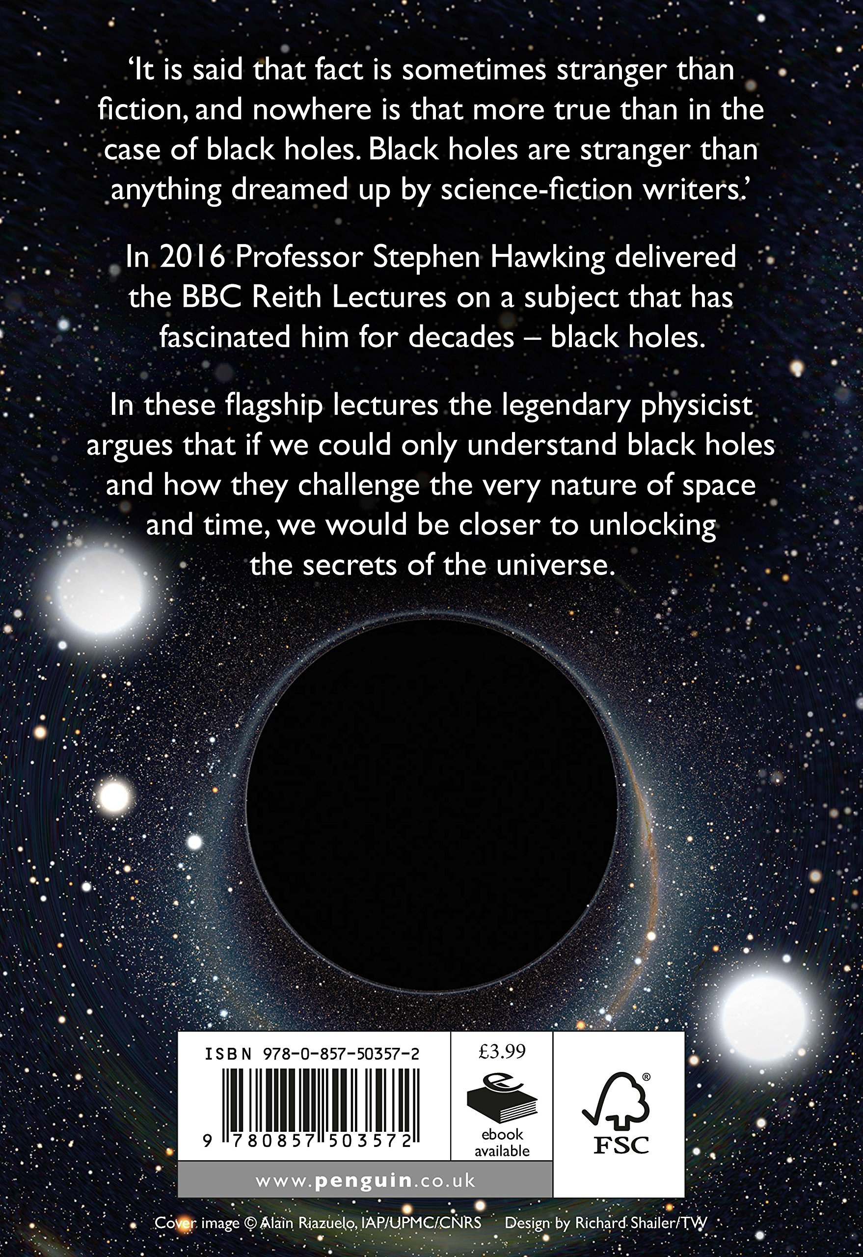 Buy Black Holes: The Reith Lectures Book Online at Low