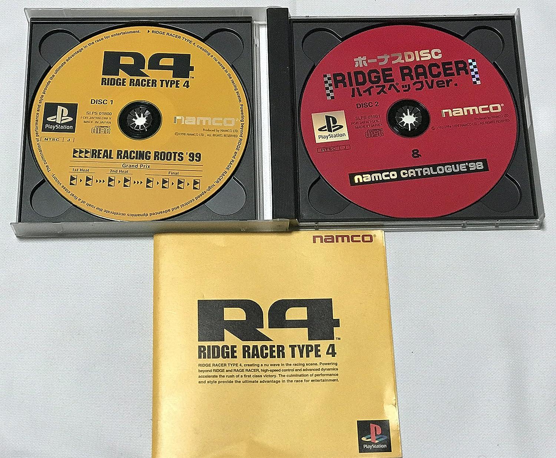 R4: Ridge Racer Type 4 PSX [Japan Import]: Amazon.es ...
