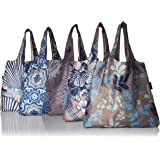 Envirosax ML.P Mallorca Pouch, Set of 5 Reusable Shopping Bags Grocery, Multicolored