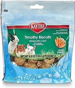 Kaytee Timothy Biscuits Baked Treat, 4oz Bag