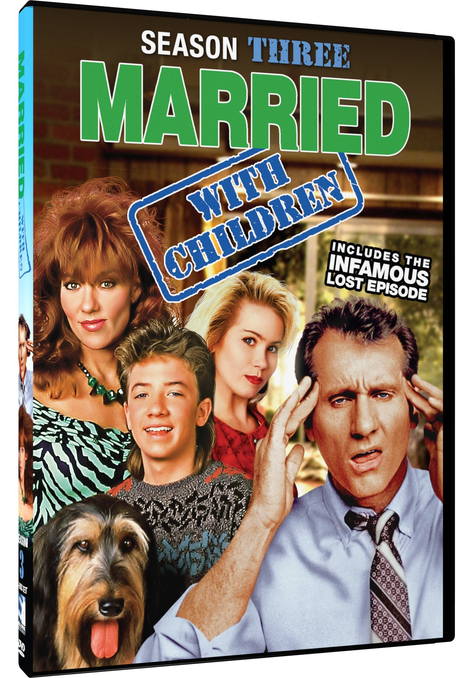DVD : Married With Children: Season 3 (2 Pack, 2PC)