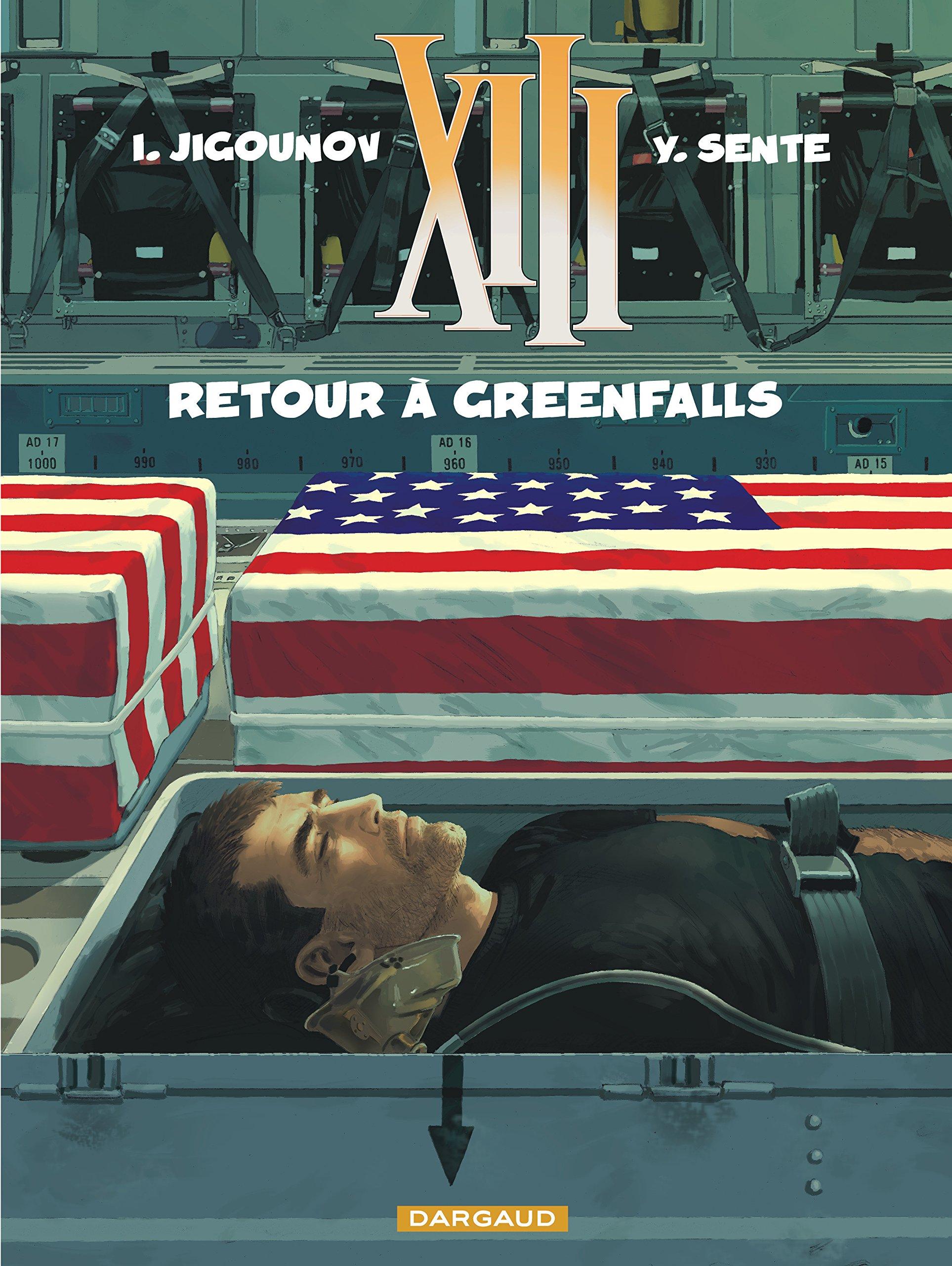 XIII - tome 22 - Retour à Greenfalls: Yves Sente: 9782505017998:  Amazon.com: Books