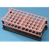 Reagenzglasständer für bis zu 50 Reagenzgläser, 16 mm Durchmesser, stapelbar