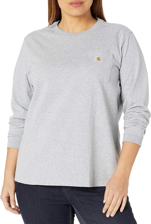 Carhartt Womens Langarmshirt Work Pocket