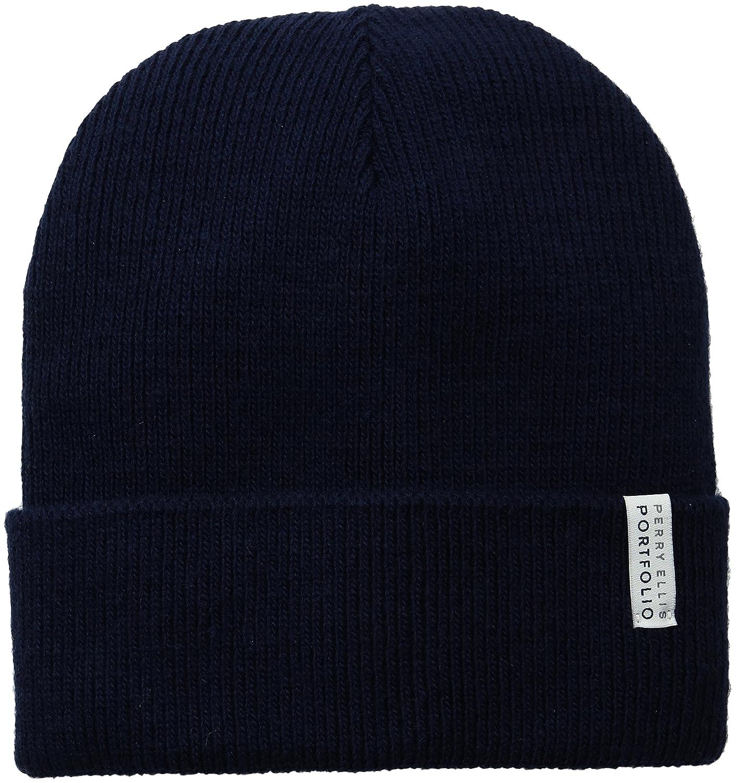 Perry Ellis HAT メンズ One Size ダークサファイア B01IC9WM6K