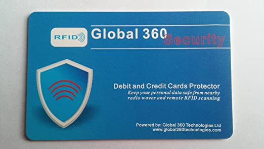 Amazon Global 360 Security Rfid Debit And Credit Cards