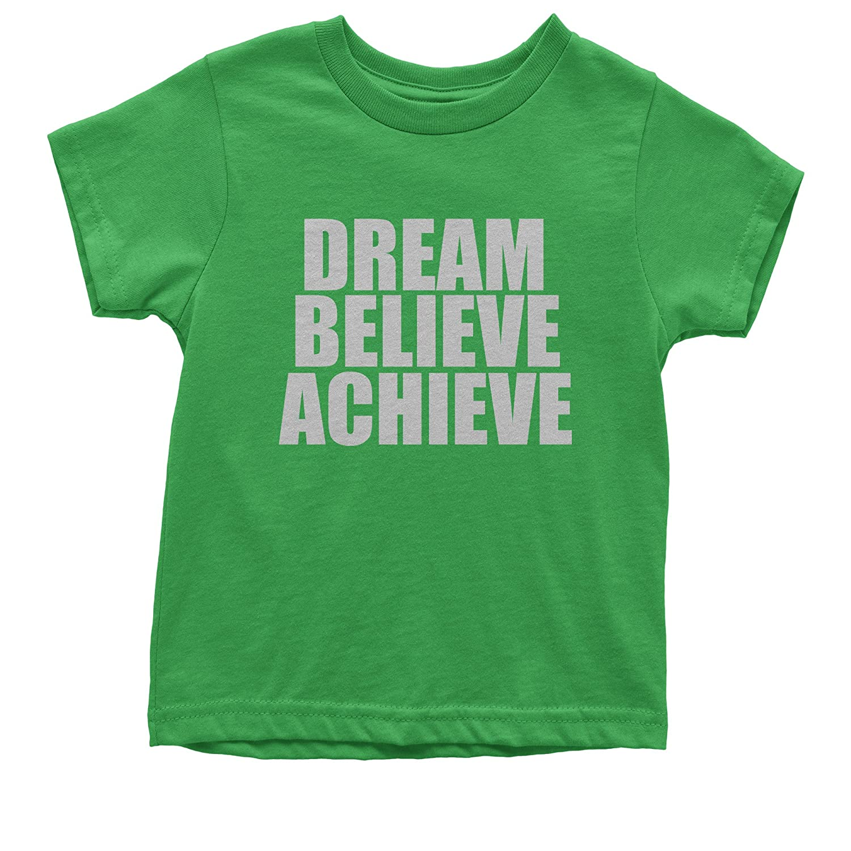 FerociTees Dream Believe Achieve Youth T-Shirt