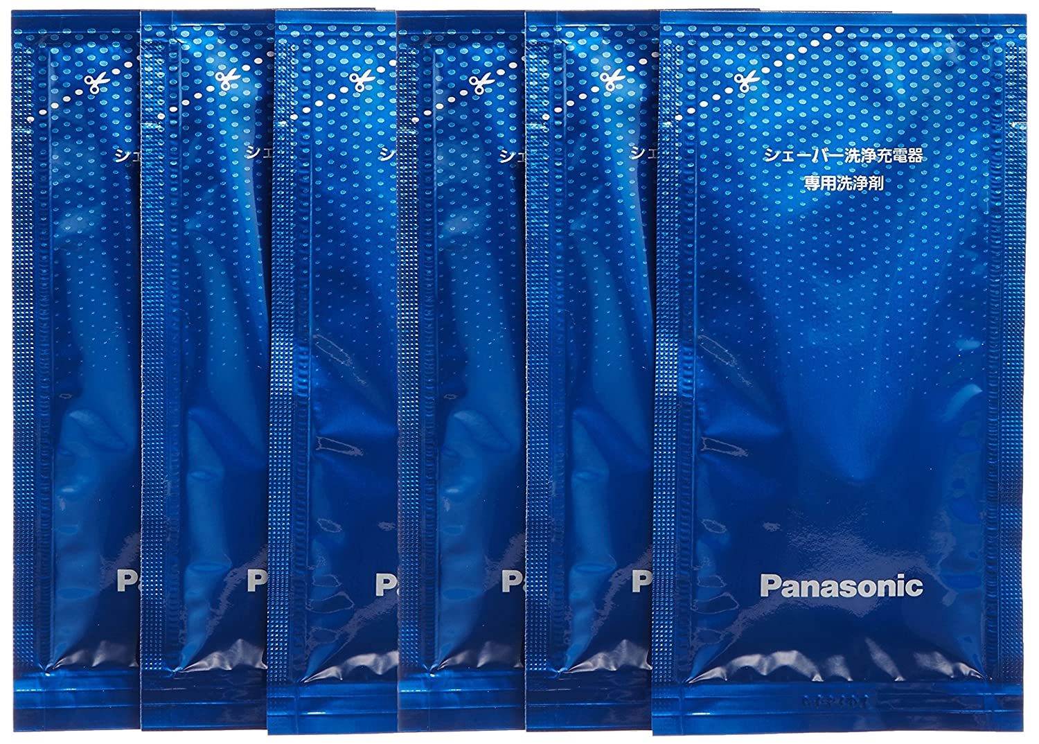[Bulk buying set] Panasonic LAMDASH shaver cleaning charger dedicated cleaning agents -6 pieces- (japan import) by Panasonic ES-4L06A