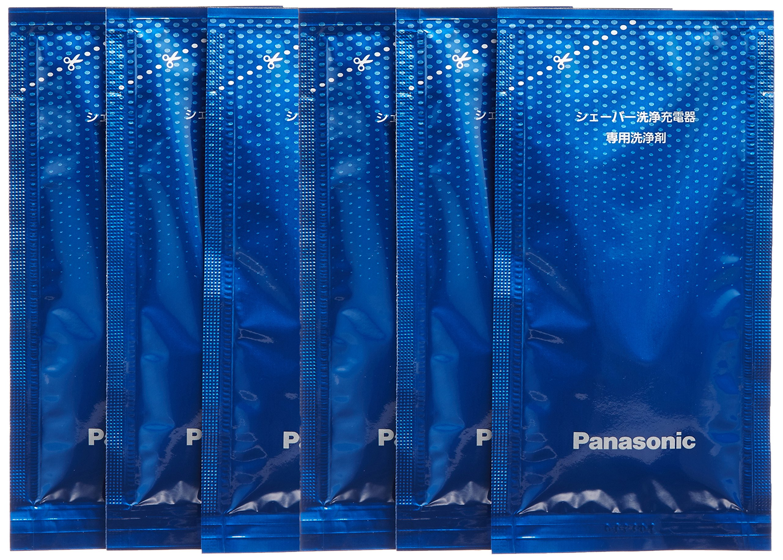 [Bulk buying set] Panasonic LAMDASH shaver cleaning charger dedicated cleaning agents -6 pieces- (japan import)