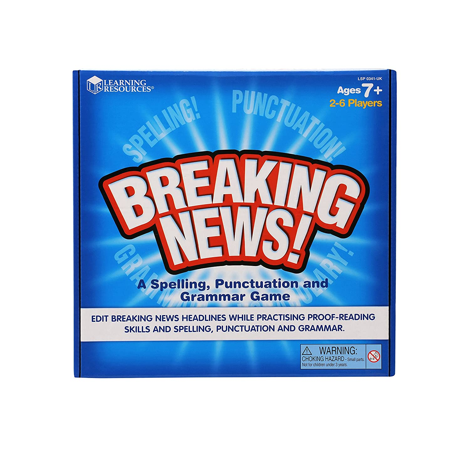 learning resources breaking news spelling punctuation and