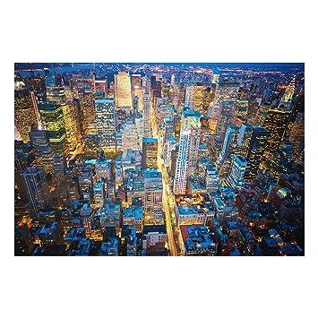 Impression Sur Verre Midtown Manhattan Large 23 Image Sur Verre