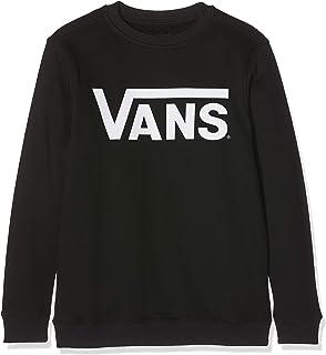 8e88fd2df1 Vans Boy's Focus Crew Sweatshirt: Amazon.co.uk: Clothing