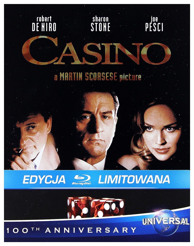 Casino Steelbook Blu-Ray Region B IMPORT No hay versión española: Amazon.es: Robert De Niro, Sharon Stone, Joe Pesci, James Woods, Don Rickles, Alan King, Kevin Pollak, L.Q. Jones, Dick Smothers, Frank Vincent,