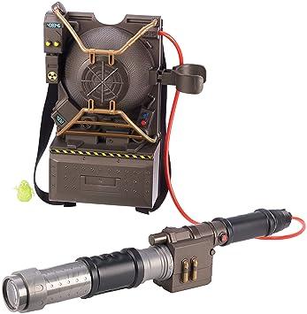 Mattel drw72 Ghostbusters Proton Mochila de proyector, Figuras de ...