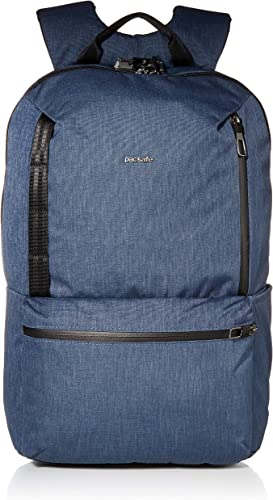 PacSafe Men s Metrosafe X Anti Theft 20L Backpack-with Padded 15 Laptop Sleeve, Dark Denim, 20.5 Liter