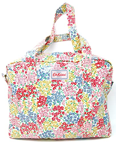7238867cd379e Cath Kidston Large Zip Bag 'Rosemoor Ditsy' Cream: Amazon.co.uk ...
