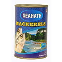 Oceans Secret - Mackerel in Brine, 425g (Pack of 4)
