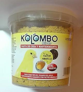 Pasta de cría y mantenimiento Factor Amarillo (Formato 450 Gr): Amazon.es: Productos para mascotas