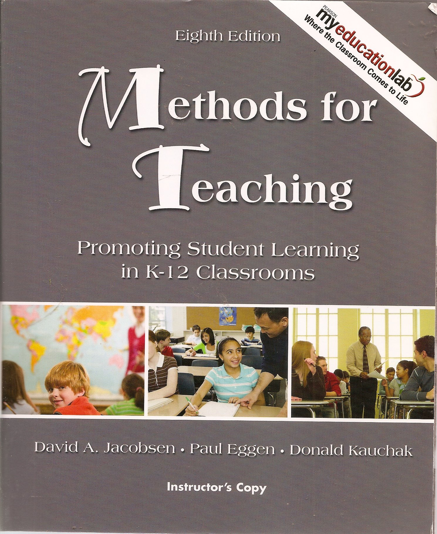Download Methods for Teaching: Promoting Student Learning in K-12 Classrooms (Instructor's Copy) pdf epub