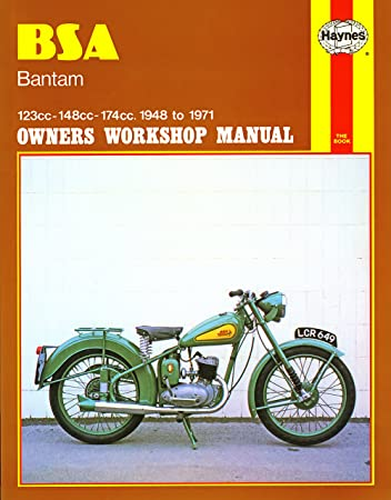 haynes owners workshop manual for bsa bantam 48 71 amazon co uk rh amazon co uk American Bantam Car Company American Bantam Car Company
