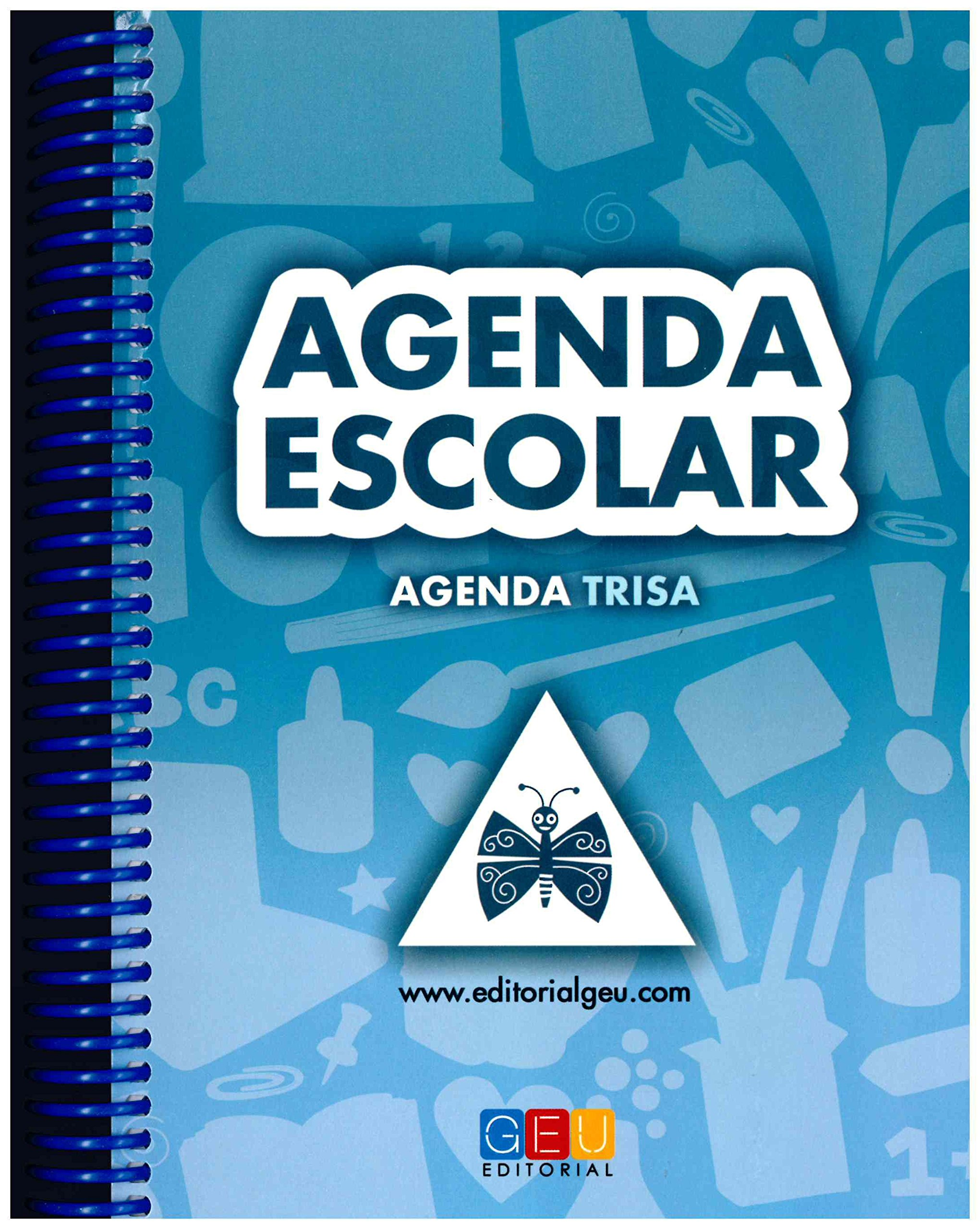 AGENDA ESCOLAR TRISA: 8436548131586: Amazon.com: Books