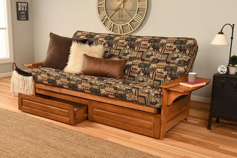 Kodiak Furniture Phoenix Futon, Full, Peter's Cabin