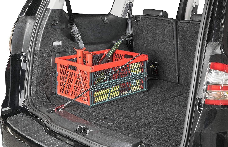 Walser 16483 Tensor para equipaje con ganchos de seguridad 8 piezas