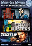 Midnight Movies Vol 3: Action Triple Feature (Big Racket/Heroin Busters/Street Law)