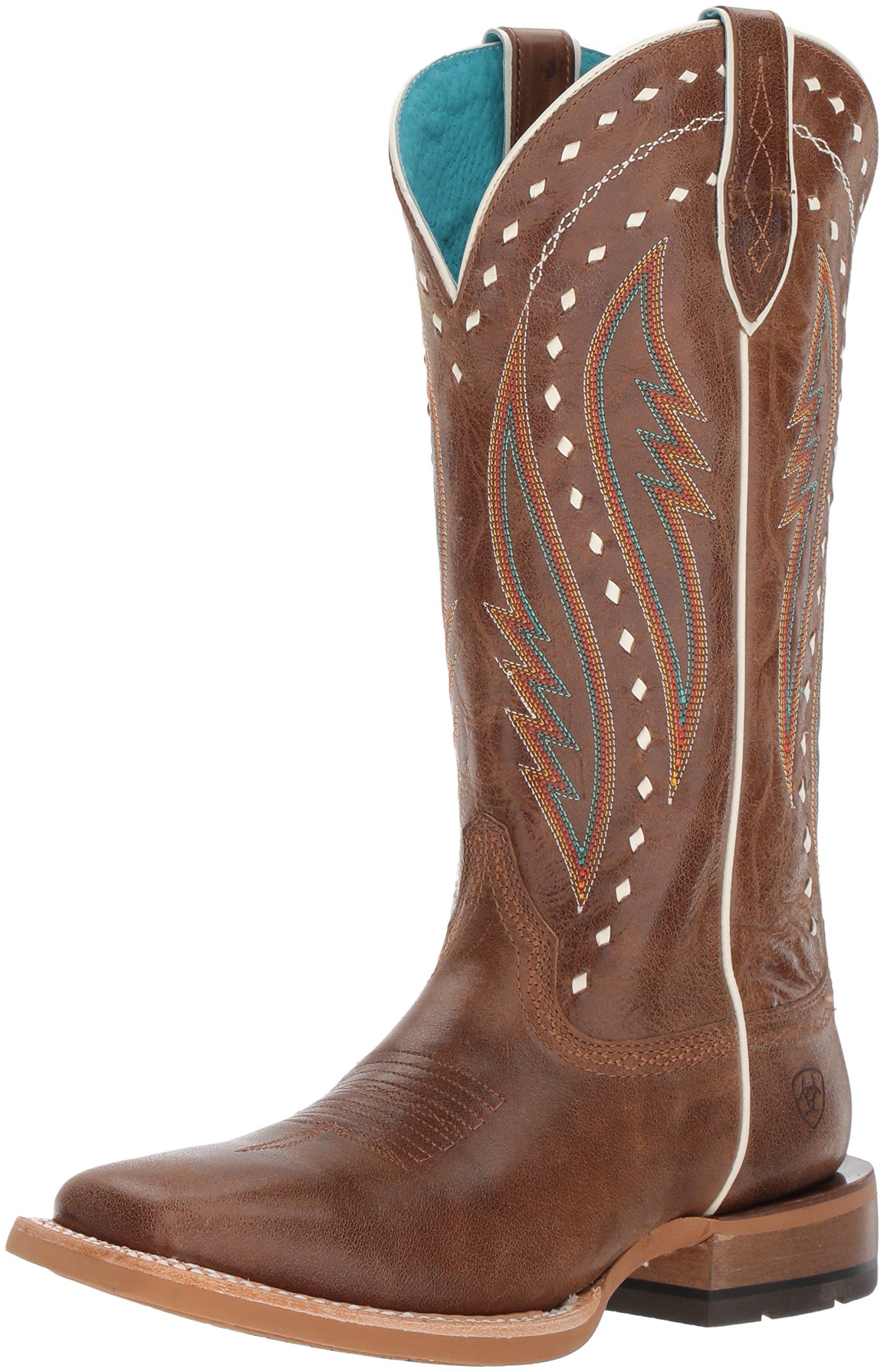 Ariat Women's Callahan Work Boot, Ranch Tan, 6 B US