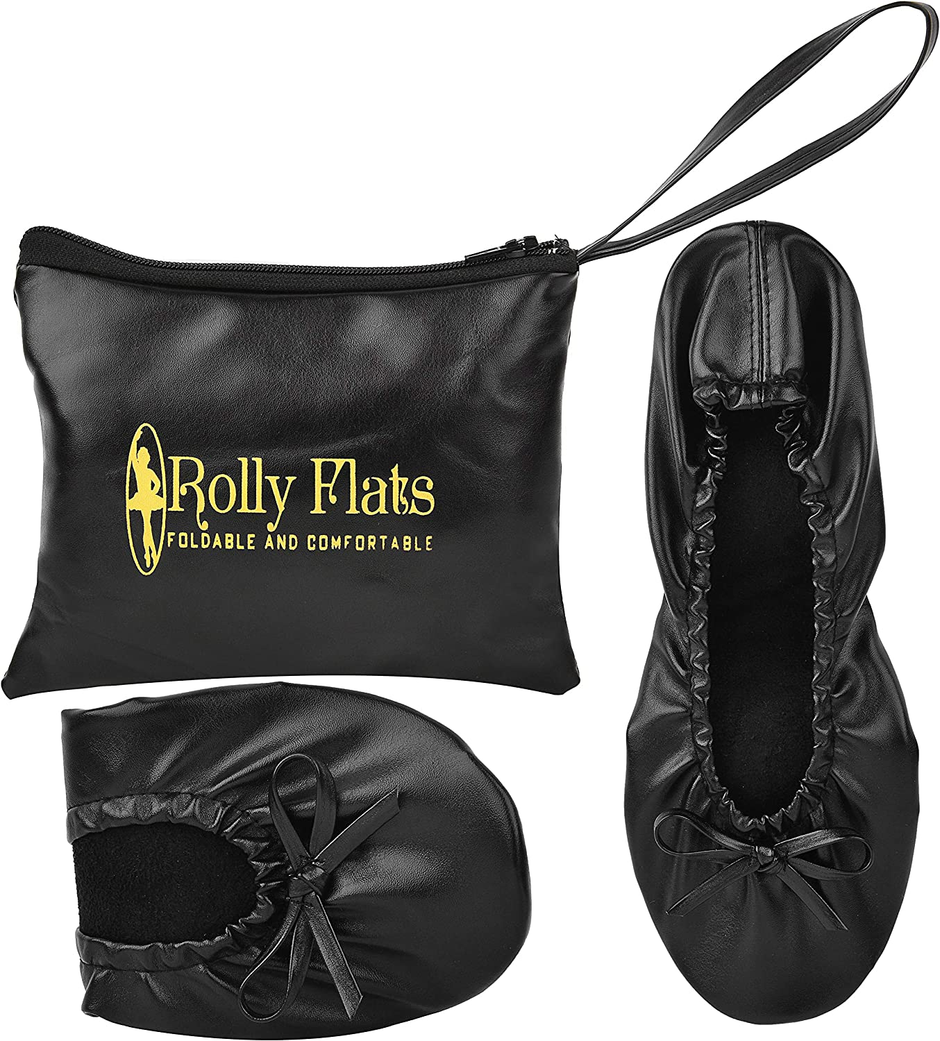 Rolly Flats Gold Sequin