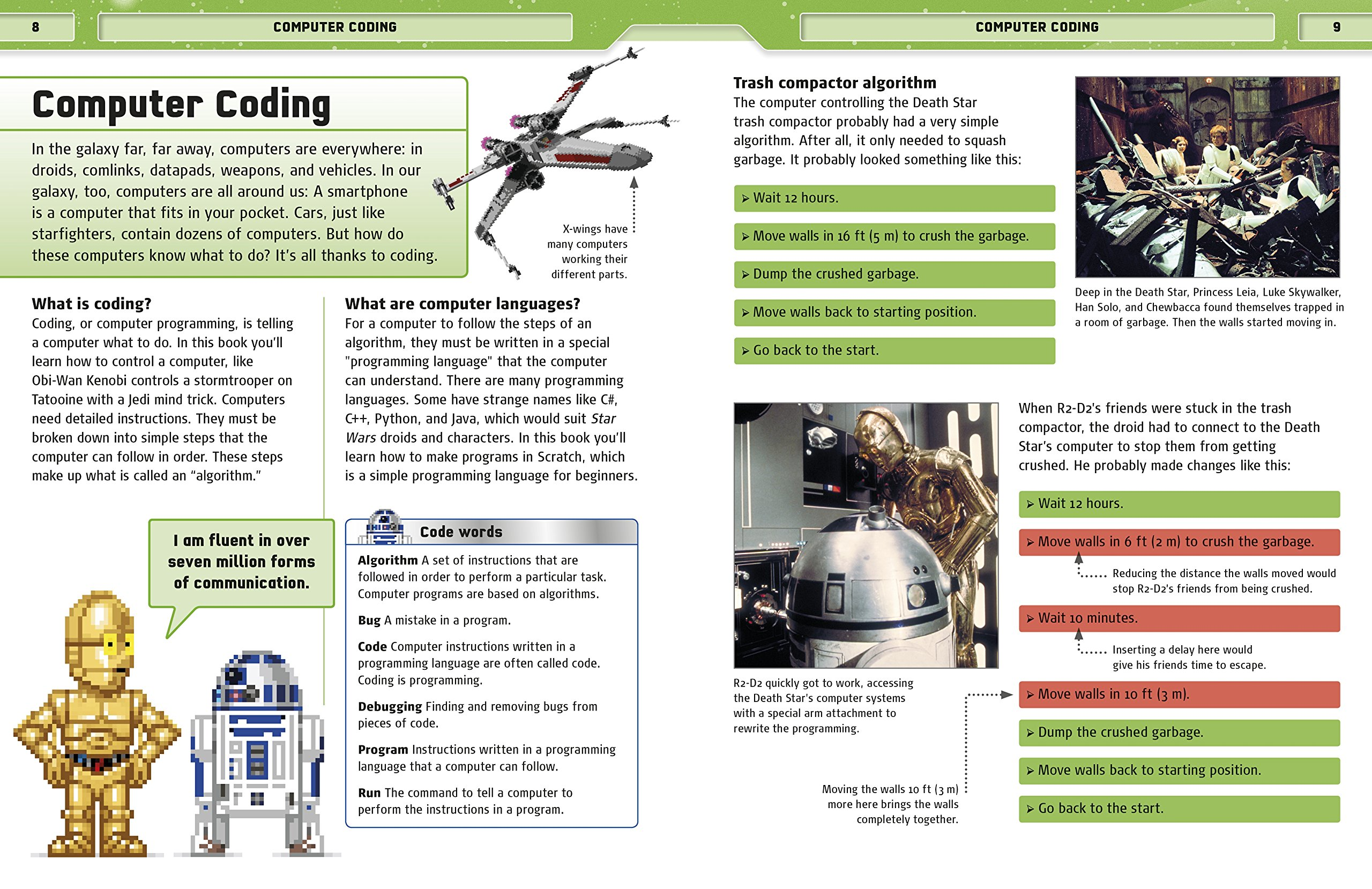 Star Wars Coding Projects: A Step-by-Step Visual Guide to Coding Your Own Animations, Games, Simulations an by DK Children (Image #3)