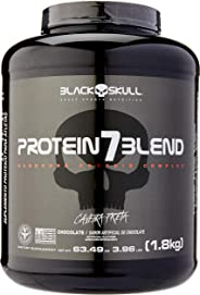 Protein 7 Blend - Chocolate - Black Skull, 1800 g