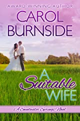 A Suitable Wife: A Sweetwater Springs Novel Kindle Edition