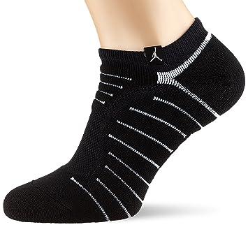 Nike Michael Jordan Ultimate Flight Ankle Calcetines, Hombre, Negro (Black/White)