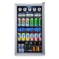 NewAir Beverage Cooler & Mini Fridge for Soda Beer / Wine