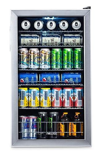 Amazon.com: NewAir 126 enfriador de bebidas y latas, Acero ...