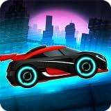 kid car games - Car Games: Neon Rider Drives Sport Cars