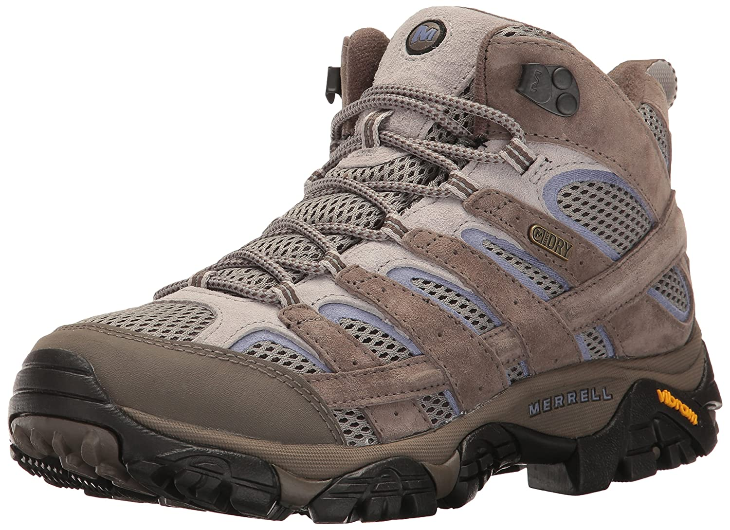 Merrell Women's Moab 2 Mid Waterproof Hiking Boot B01N5FH4V7 7.5 B(M) US|Falcon