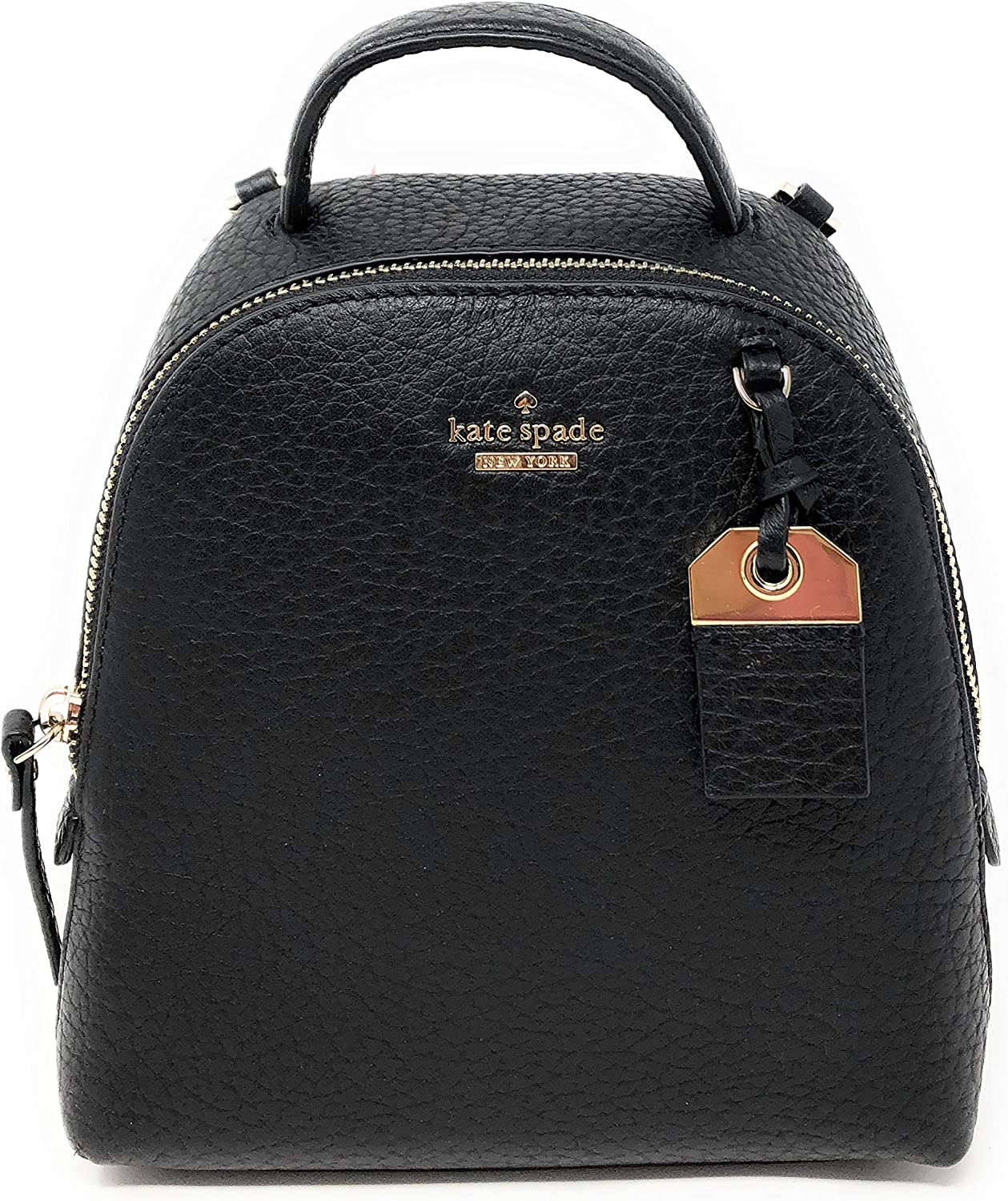 Kate Spade New York Carter Mini Caden Leather Convertible Backpack