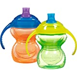 Munchkin Click Lock Trainer Cup, Green/Orange, 2 Count, 7 Ounce (Discontinued by Manufacturer)