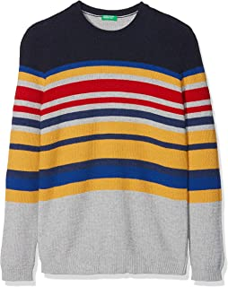 United Colors of Benetton Boy's Sweater L/S Jumper