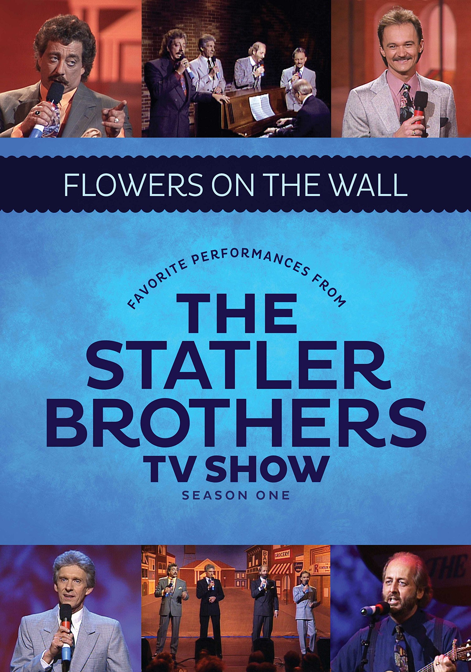Best Of The Statler Brothers T.v. Shows: Flowers On The Walls Live (DVD)