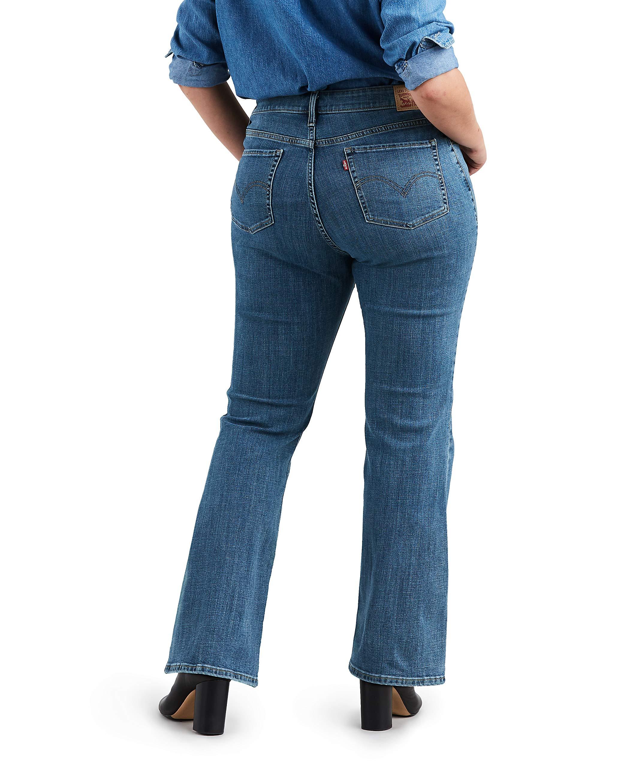 Levis Womens Plus-Size Classic Bootcut Jeans