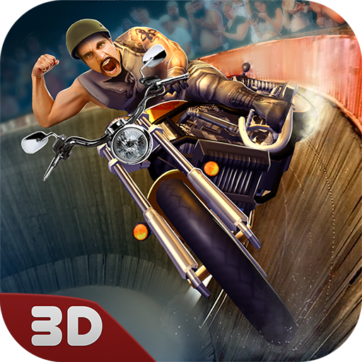 Well of Death Barrel Racing Game: Motor Rider | Burning Wheel Bike Rush Driving Missions