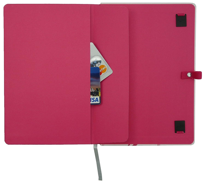 Lovely Butterfly Lanybook Notizbuch, A6, kariert, inklusive Froschtasche, Hardcover, Hardcover, Hardcover, 192 Seiten, weiß Rosa B00VMAIG0I | Mama kaufte ein bequemes, Baby ist glücklich  | König der Quantität  | Clever und praktisch  90ab50