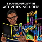 NATIONAL GEOGRAPHIC Glowing Marble Run - 80 Piece