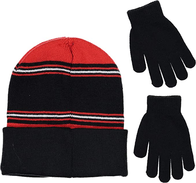 Boys Girls Kids Official Licensed Disney Cars Red Peruvian Style Winter Hat