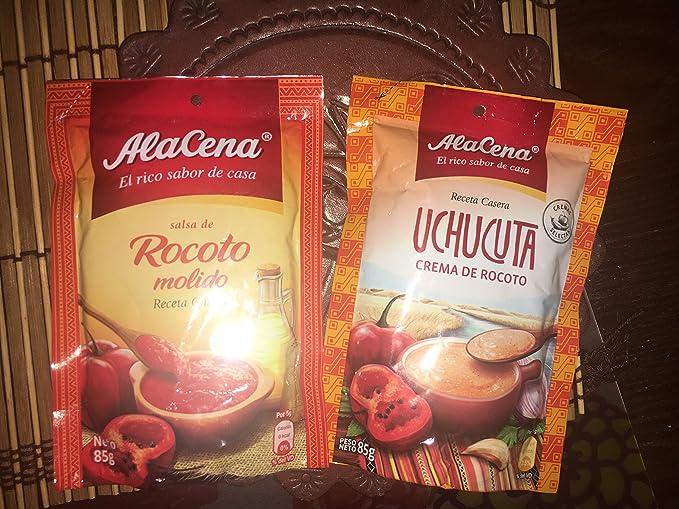 Pack 3 Sobres 85g de Salsa de Rocoto Molido AlaCena - (3x85g)