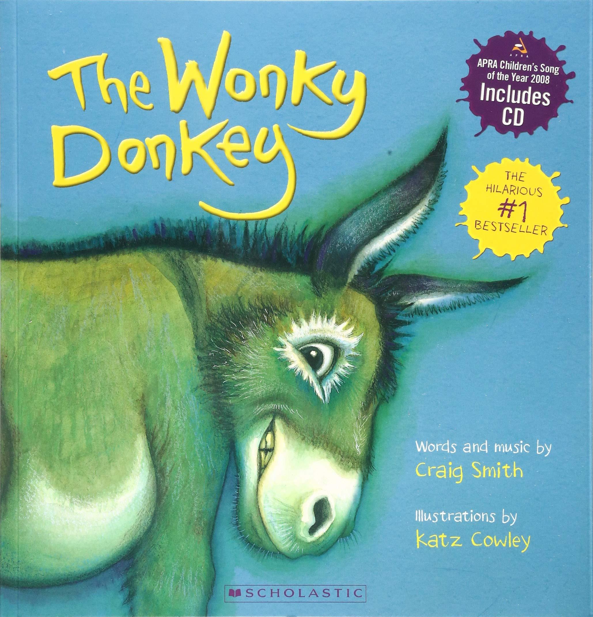 The Wonky Donkey (Book & CD)